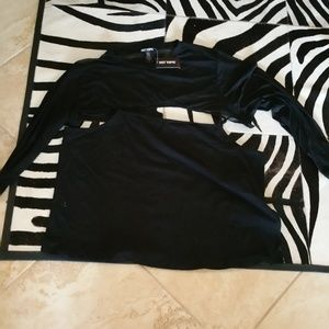 Hot Topic Goth Top size 3x new with tags